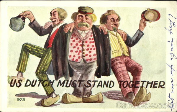 Us Dutch Must Stand Together Comic, Funny