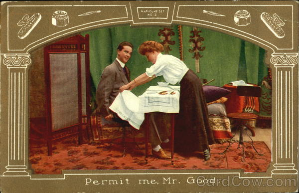 Permit Me Mr. Good Comic, Funny