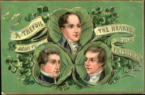 A Trefoil The Hearts Of All Irishmen St. Patrick's Day