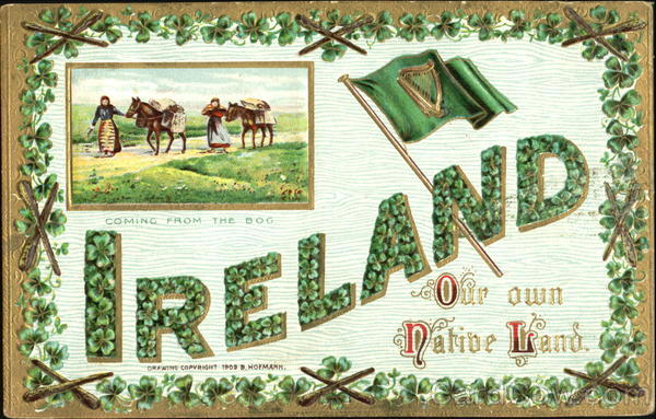 Coming From The Bog Ireland Our Own Native Land St. Patrick's Day