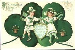 St. Patrick's Day Souvenir The Day Our Hearts Rejoice