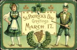 St. Patrick's Day Greetings March 17