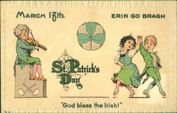 March 17Th Erin Go Bragh St. Patrick's Day
