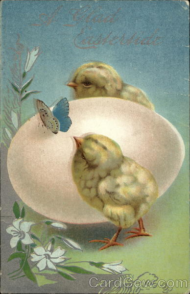 A Glad Eastertide With Chicks