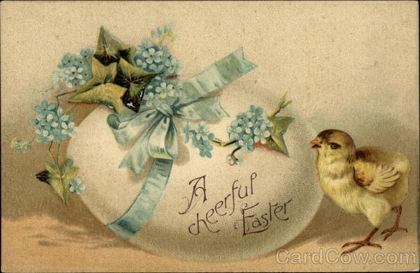 A Cheerful Easter With Chicks
