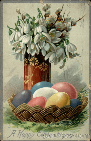 A Happy Easter to you Eggs