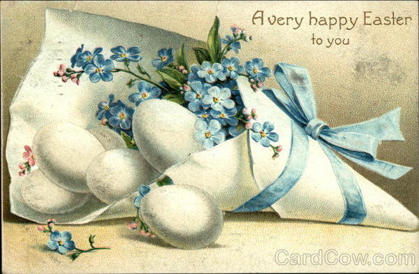 A very happy Easter to you Eggs