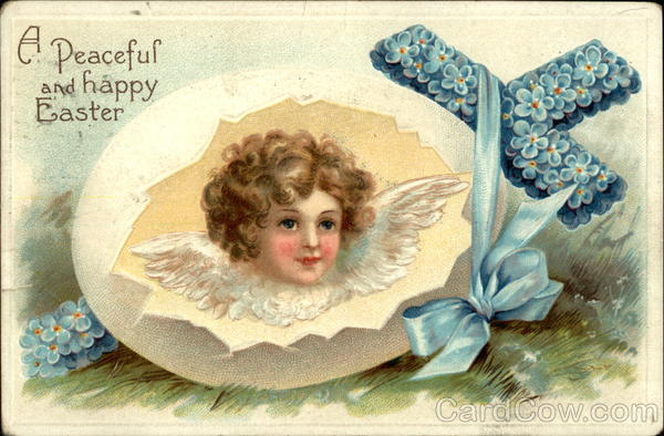 A Peaceful and Happy Easter With Angels