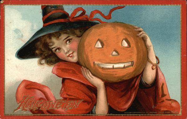 Halloween Frances Brundage