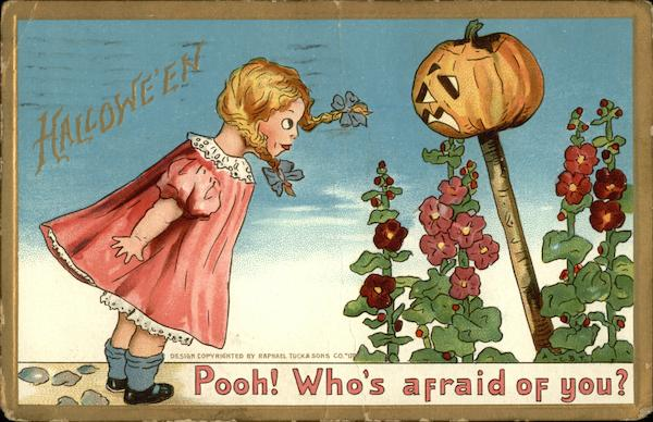Halloween, Pooh! Who's afraid of you?