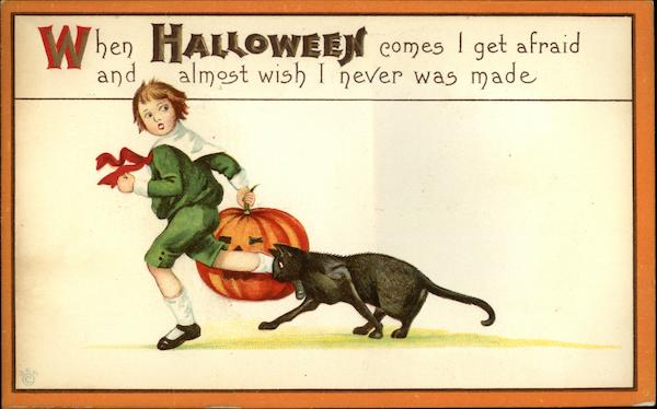 Halloween Greetings Margaret E. Price