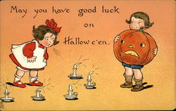 May you have good luck on Halloween