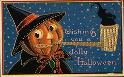 Wishing you a jolly Halloween