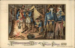 Thanksgiving Day at Valley Forge 1778