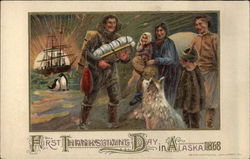 First Thanksgiving Day in Alaska 1868