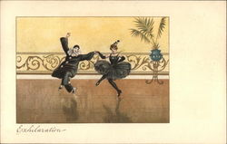 Exhilaration - Clown and Lady Dancing