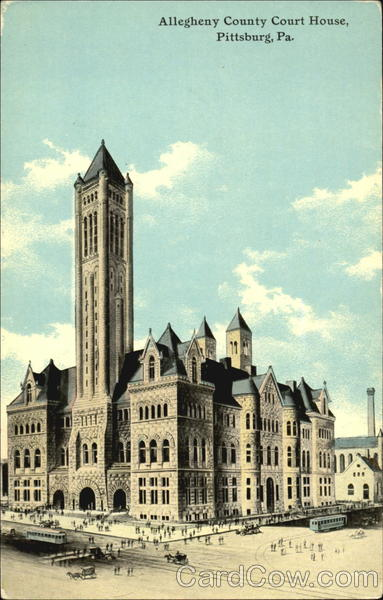 Allegheny County Court House Pittsburgh Pennsylvania