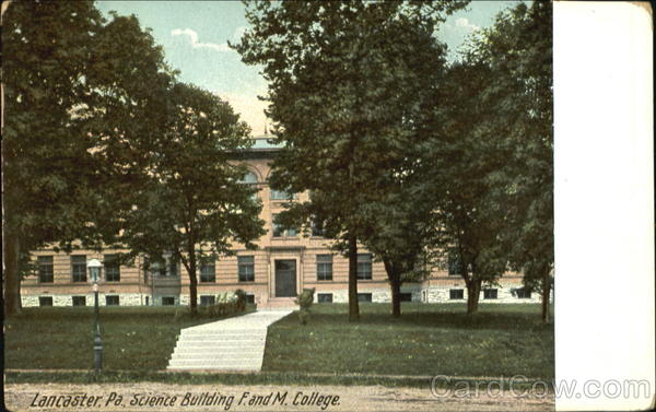 Science Building, F. and M. College Lancaster Pennsylvania
