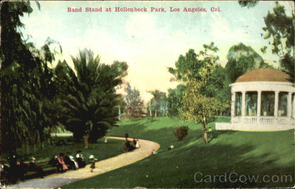 Band Stand At Hollenbeck Park Los Angeles California