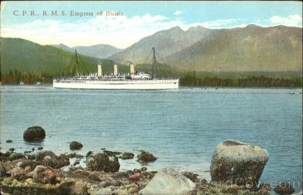 C. P. R. R. M. S. Empress Of Russia Boats, Ships