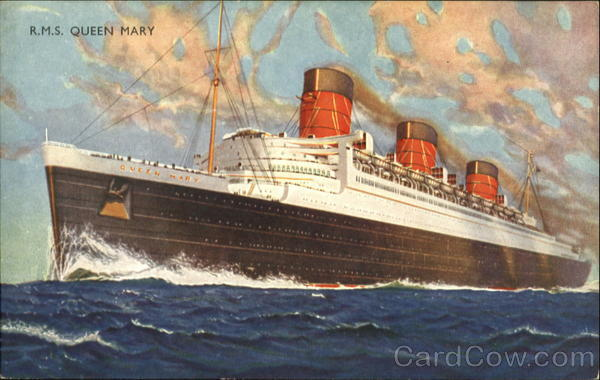 R. M. S. Queen Mary Boats, Ships