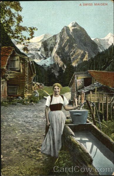 A Swiss Maiden Women