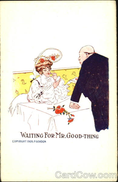 Waiting For Mr. Good-Thing Romance & Love