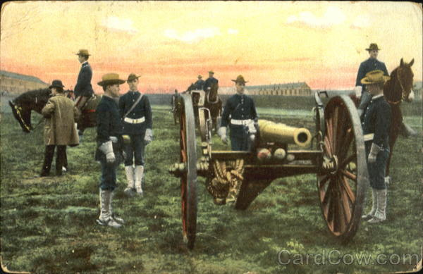 Soldiers & Cannon Military