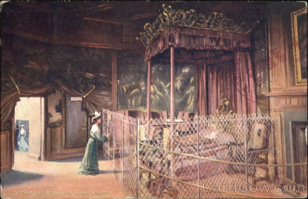 Queen Mary's Bedroom Holyrood Palace Edinburgh Scotland