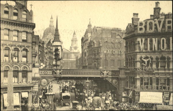 Ludgate Hill London England