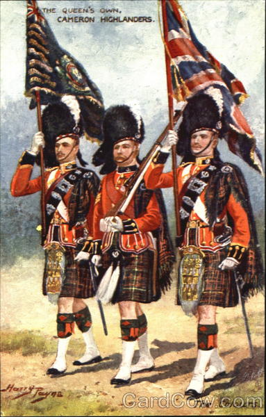 The Queen's Own Cameron Highlanders Military