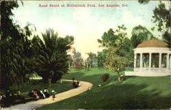 Band Stand At Hollenbeck Park