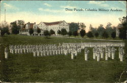 Dress parade, Columbia Military Academy