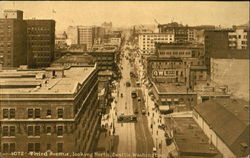 Third Avenue Looking North Postcard