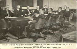 Russo-Japanese Peace Commission In Conference