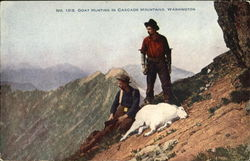 Goat Hunting In Cascade Mountains
