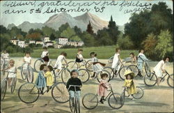 Babies on Bicycles