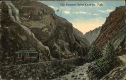 The Famous Ogden Canyon