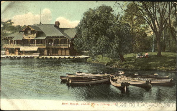 Boat House, Lincoln Park Chicago Illinois