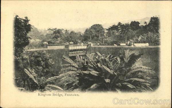 Kingtom Bridge, Freetown Sierra Leone Africa