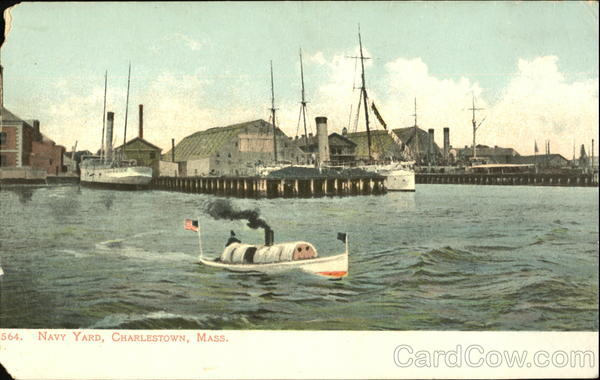 Navy Yard Charlestown Massachusetts