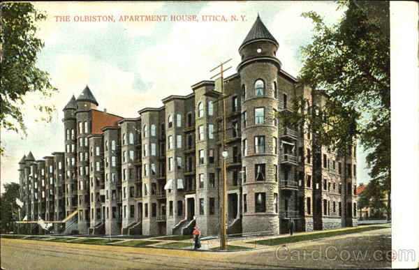The Olbiston Apartment House Utica New York