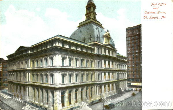 Post Office And Customs House St. Louis Missouri