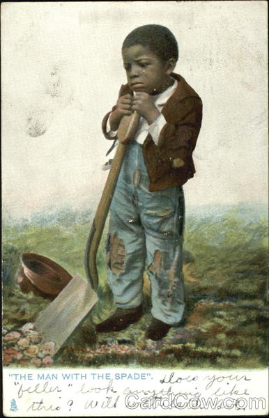 The Man With The Spade Black Americana