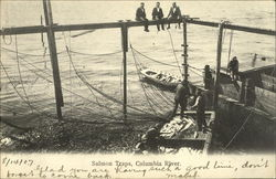 Salmon traps, Columbia River