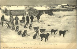 Mail Team Leaving Circle City For Fort Gibbon