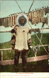 Eskimo Drying Fish