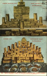 Gold Bricks Postcard