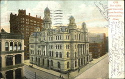 Post Office And Guaranty Loan Building Postcard