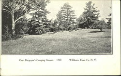 Gen. Burgoyne's Camping Ground